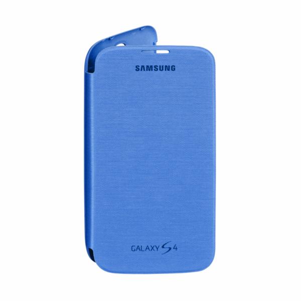 Flipové pouzdro Samsung EF FI950BCEG S4 Blue