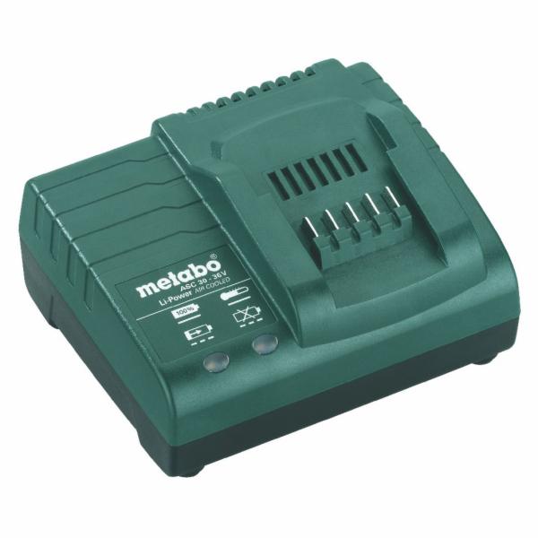 Metabo Nabíječka ASC 30 - 36 V, z 14,4 až 36 V,
