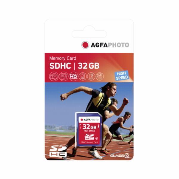 AgfaPhoto SDHC Karte 32GB Class 10 / UHS I