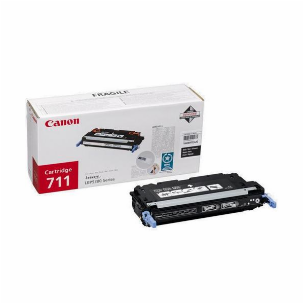 Canon Toner Cartridge 711 BK black