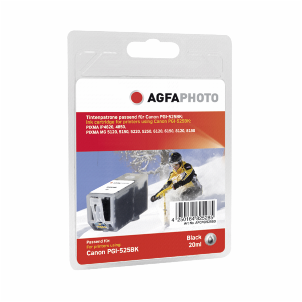 AgfaPhoto PGI-525 BK black with chip