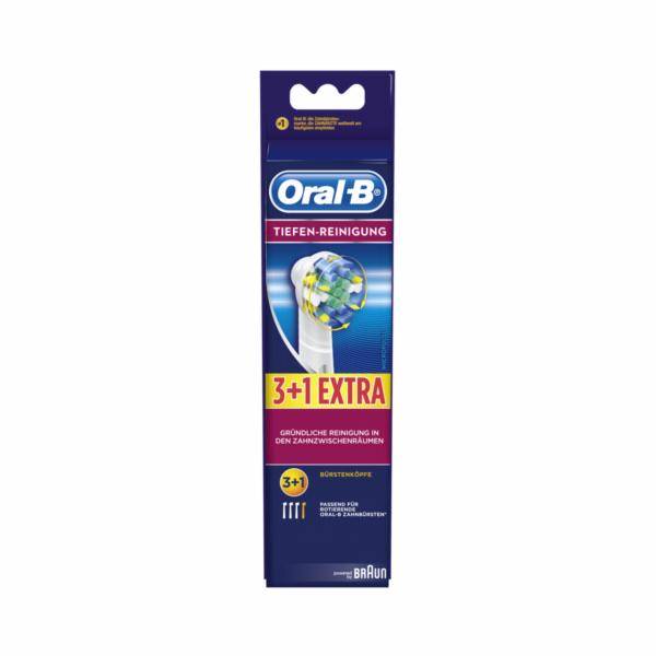 Braun Oral-B nahradni kartacky hloubkova pece 3+1