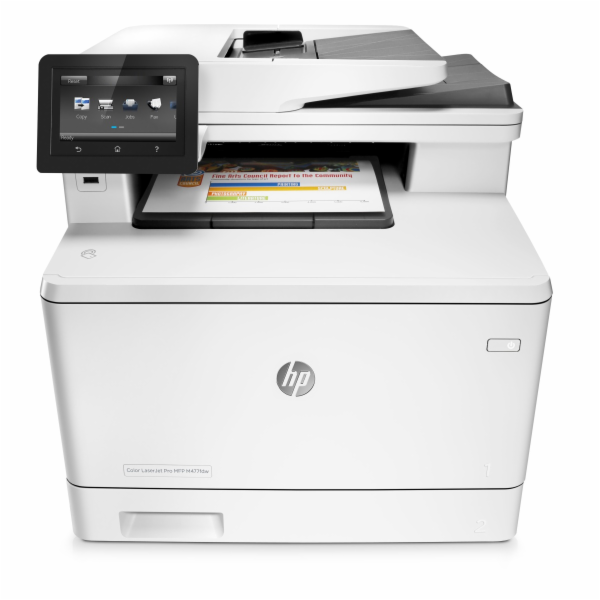 HP CLJ Pro MFP Color M477fdw (A4, 27/27ppm, USB 2.0, Ethernet, Wi-Fi Print/Scan/Copy/Fax, Duplex)