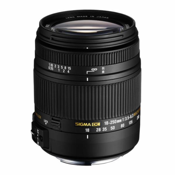 Objektiv Sigma 18-250 mm 3,5-6,3 DC Makro OS pro Nikon