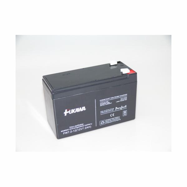 Baterie FUKAWA FW7.2-12(28W)_187 (12V/7,2 Ah - Faston 187) SLA baterie