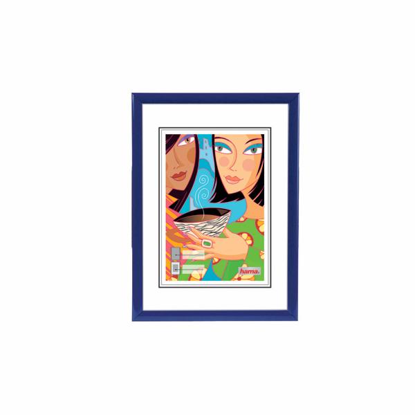 Rámeček plastový Hama Madrid 20x30, modrý