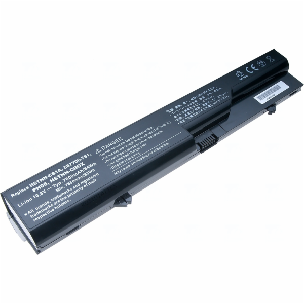 Baterie T6 power HP ProBook 4320s, 4420s, 4520s, HP 320, 325, 420, 620, 625, 9cell, 7800mAh