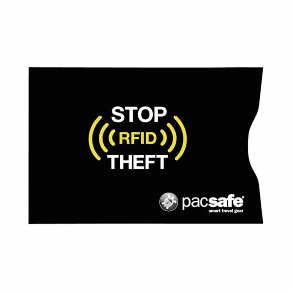 Pacsafe RFIDsleeve 25 RFID-blocking credit card sleeve