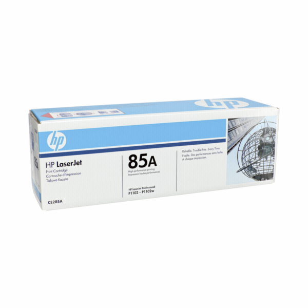 HP 85A Black LJ Toner Cart, 1 600 str, CE285A