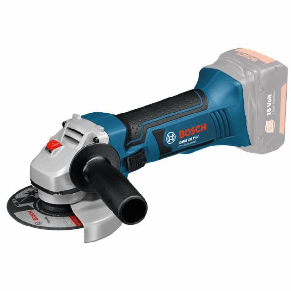 Bruska úhlová Bosch GWS18-125V-LI (060193A308) bez aku a nabíječky