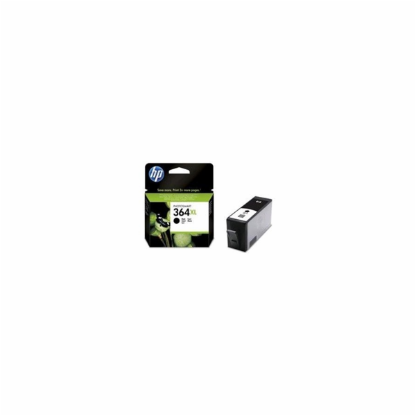 HP 364XL Black Ink Cart, 18 ml, CN684EE
