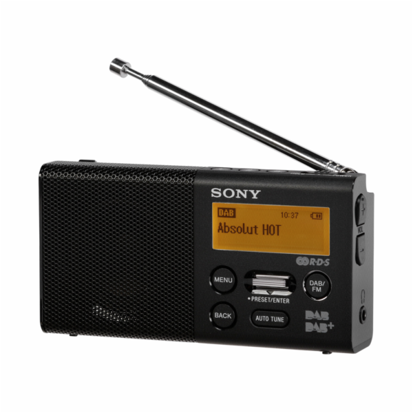 Sony XDR-P1DBPB black