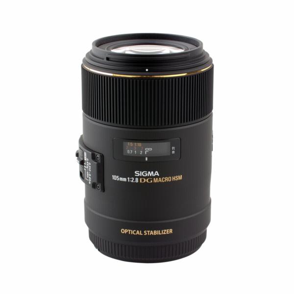 Objektiv Sigma EX 2,8/105 DG Macro OS HSM Canon