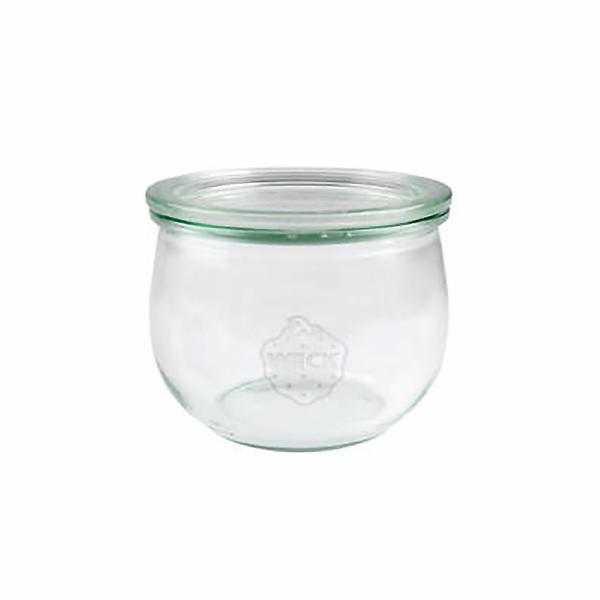 sklenice+víč.580ml (d100)WECK Tulpe-1ks
