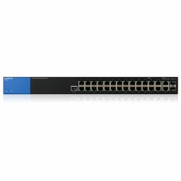 Linksys LGS528 Managed Gigabit Switches 24-port, L2