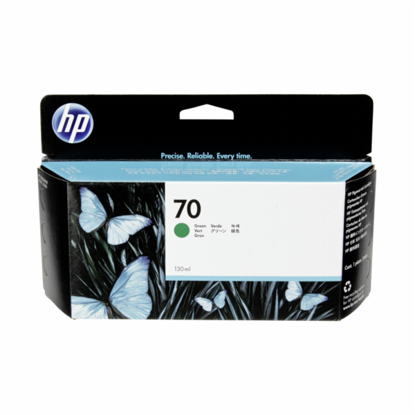 HP C 9457 A cartridge zelena Vivera No. 70