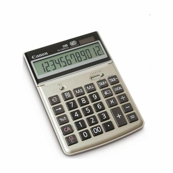 Kalkulačka Canon TS 1200 TCG