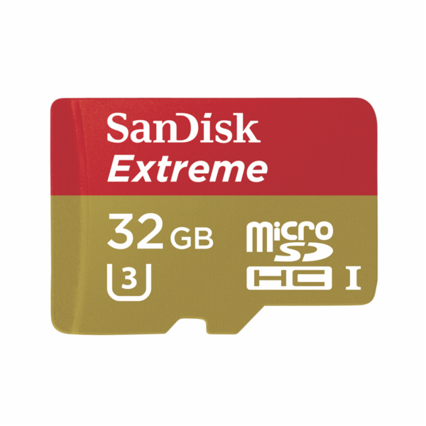 SanDisk Extreme microSDHC 32GB UHS-I SDSQXNE-032G-GN6AA