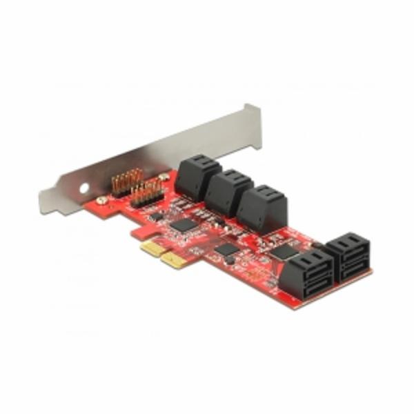 PCI ExpressCard x2 Card > 10x SATA 6 Gb/s, Serial ATA-Controller