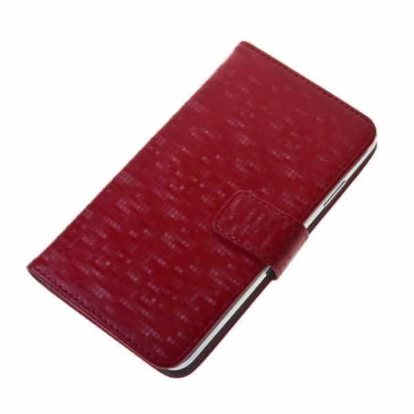 "Aligator Pouzdro BOOK GLAMMY L (4,5""- 5"") Red"