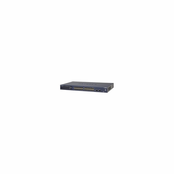 Netgear GS724T ProSafe 24-port Gigabit Smart Switch, 2x SFP slot
