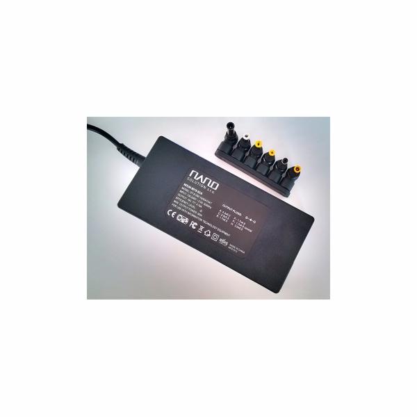 Univerzální zdroj 90W slim,19V×4.73A ,6×konektor 2-pin in/ 2-pin out - bez šňůry