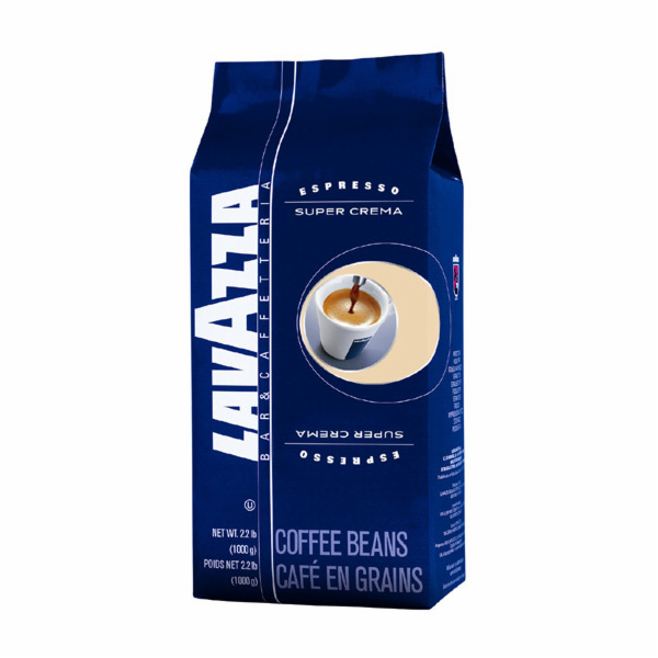 Káva Lavazza Super Crema zrnková 1kg