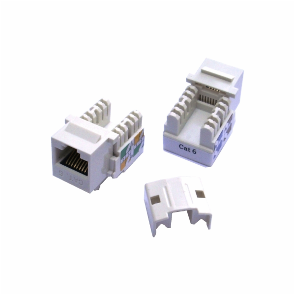 DATACOM Keystone cat6 white UTP