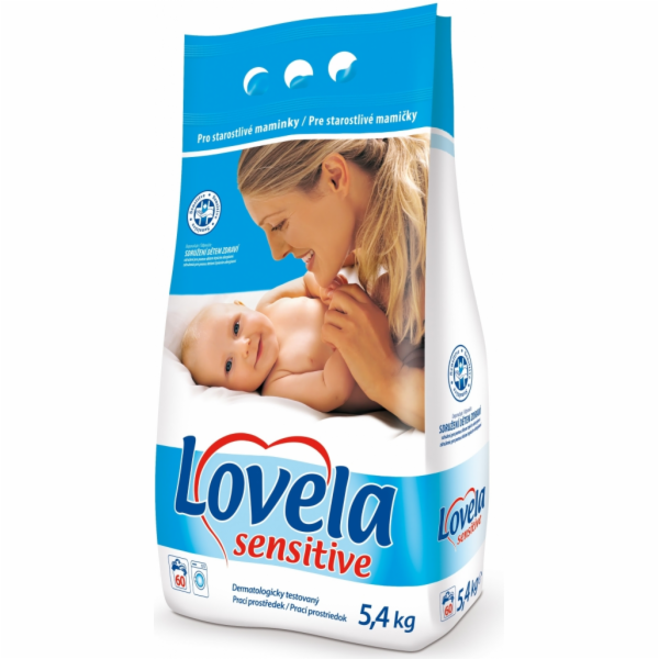 Lovela Sensitive prací prášek pro děti 5,4 kg