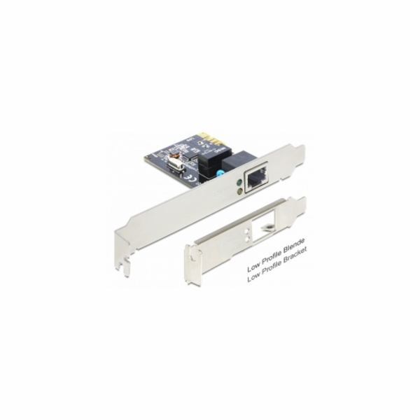 Delock PCI Express karta > 1 x Gigabit LAN +low profile