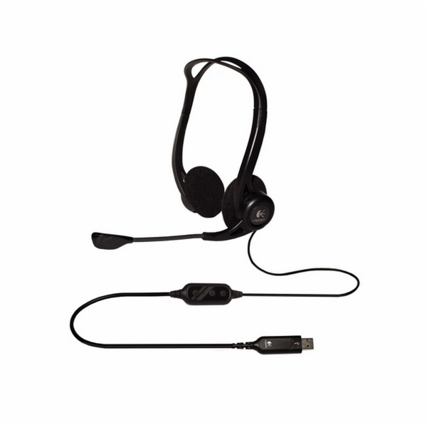 Headset Logitech PC Headset 960 USB