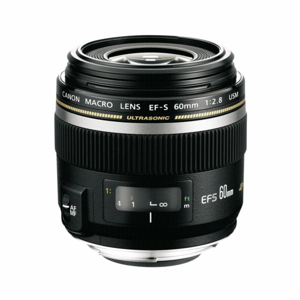 Objektiv Canon EF-S 60mm 1:2,8 Makro USM
