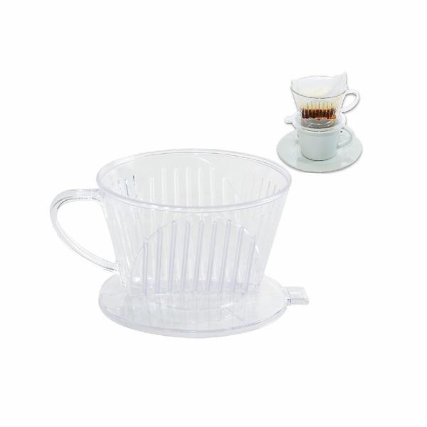 filtr na kávu transparentní