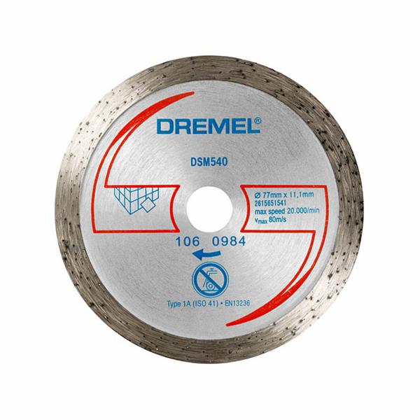 Diamantový dělicí kotouč Dremel DSM 540 na dlažby