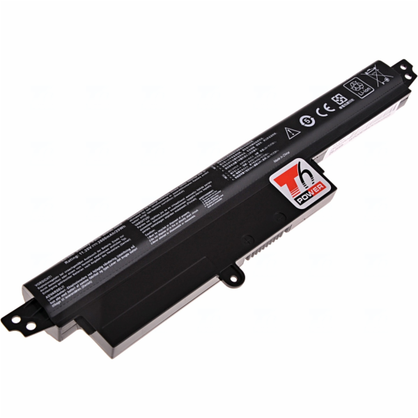 Baterie T6 power Asus X200, F200, R200, 4cell, 2600mAh