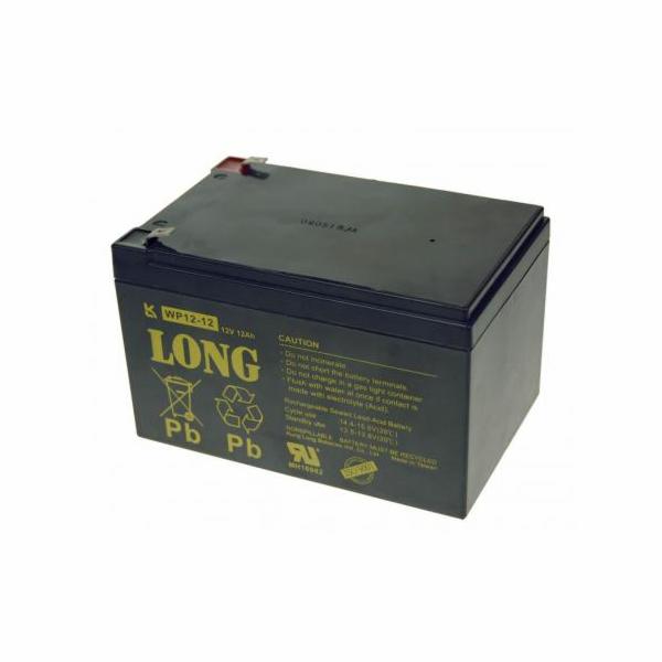 Baterie Long WP12-12 (12V/12Ah - Faston 250)