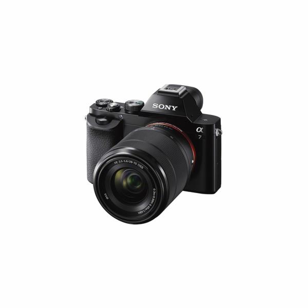 Sony Alpha 7 + objektiv 20-70mm (ILCE7KB.CE)
