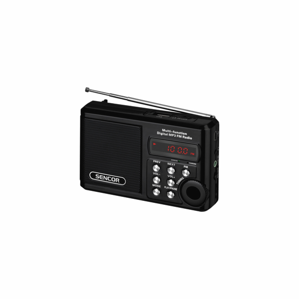 SRD 215 B RÁDIO S USB/MP3 SENCOR
