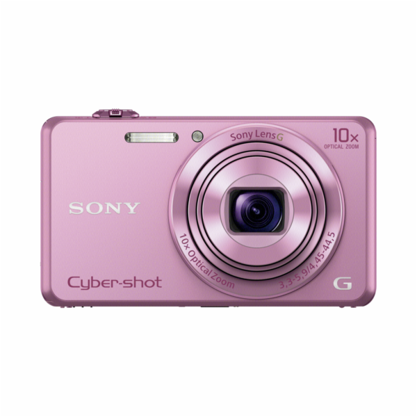 Fotoaparát Sony DSC-WX220 P růžový