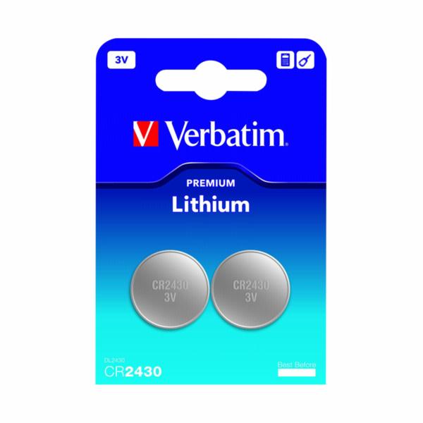 1x2 Verbatim CR 2430 Lithium