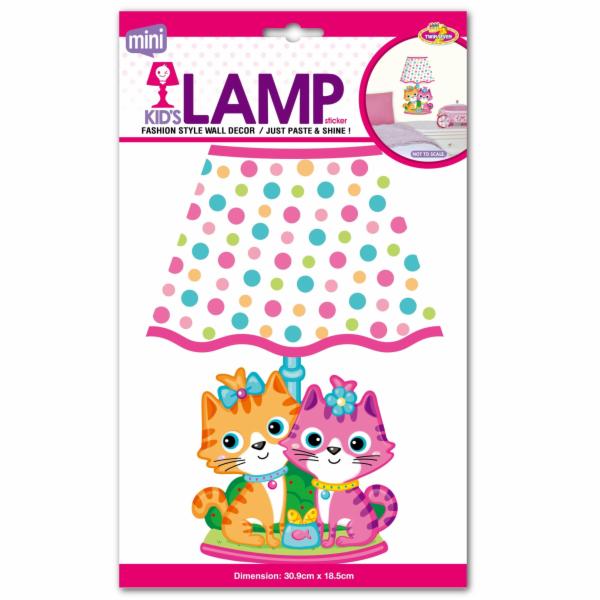 Dětská lampička na zeď kočičky