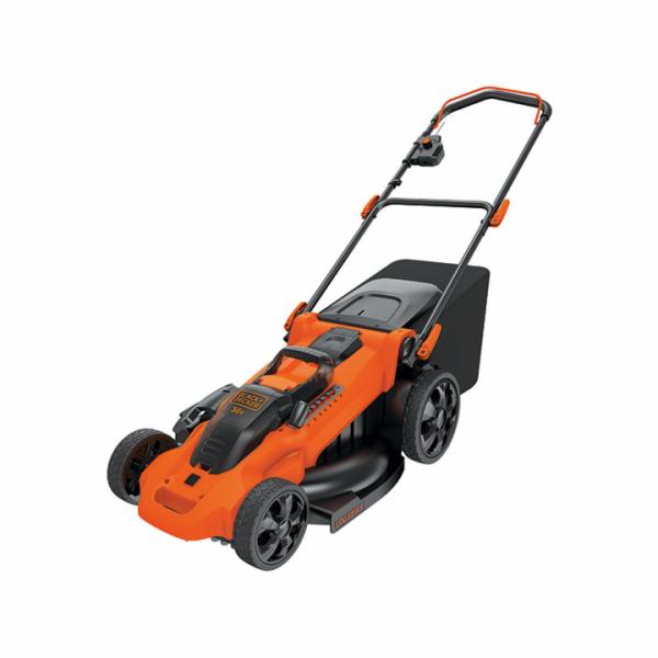 Black & Decker 36V CLMA4820L2 Autosense sekačka na baterie na trávu 2 x 2 Ah, 36 V baterie a nabíječky 1.35A