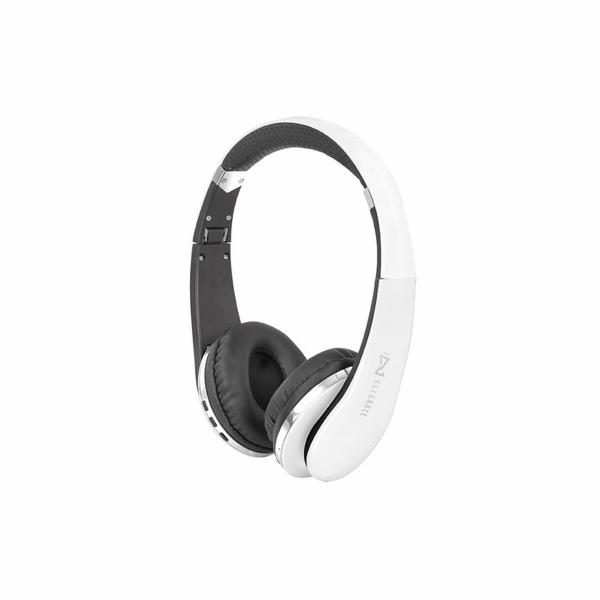 DJ 1200BT/WH Stereo sluchátka s BlueToot
