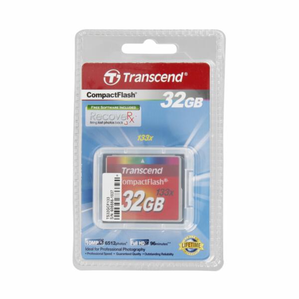 Paměťová karta Transcend Compact Flash 32GB