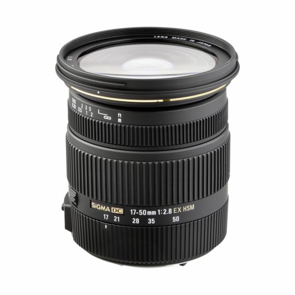 Objektiv Sigma EX 2,8/17-50 DC OS HSM Nikon