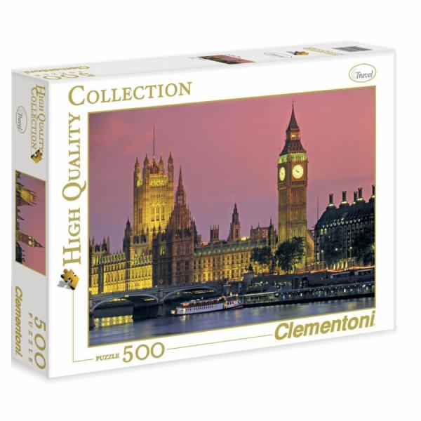 Puzzle 500 dílků Večerní Londýn