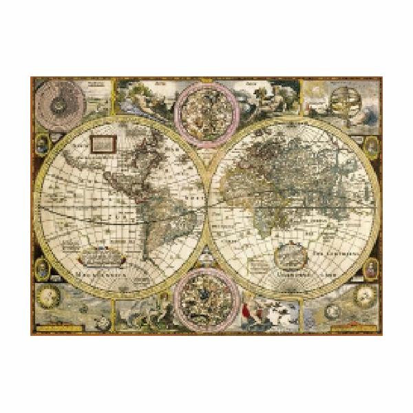 Puzzle 3000 dílků Mapa antická
