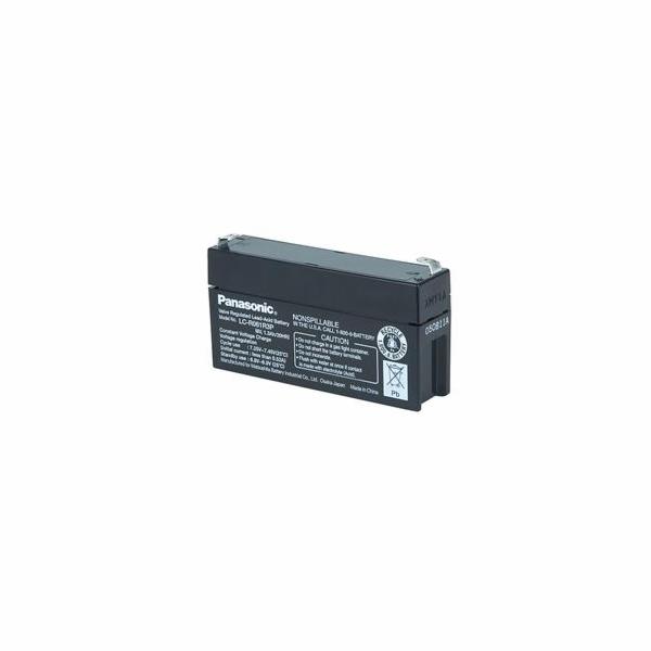 Panasonic olověná baterie LC-R061R3P 6V/1,3Ah