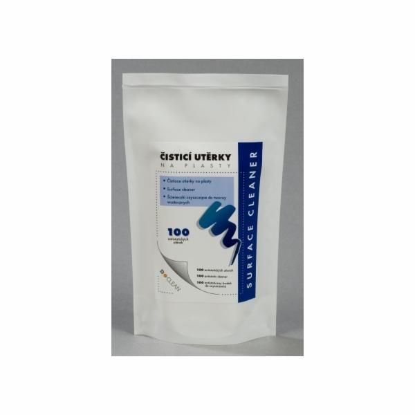 D-clean Náhradí plnění k D-21 - Navlhčené čisticí utěrky na plasty