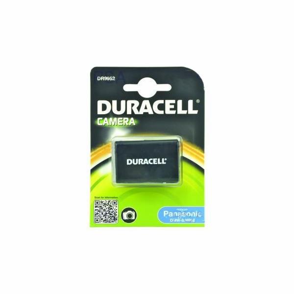 DURACELL Baterie - DR9952 pro Panasonic DMW-BMB9E, černá, 850 mAh, 7.4 V